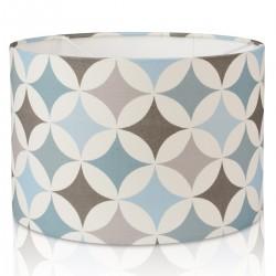 Retro Blue, Grey Design Lampshade, Ceiling Pendant,Table Lamp